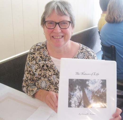 """In July Deborah K. Frontiera shares her mock-up of """"The Nature of Life"""" along with writerly wisdom on publishing and marketing."""