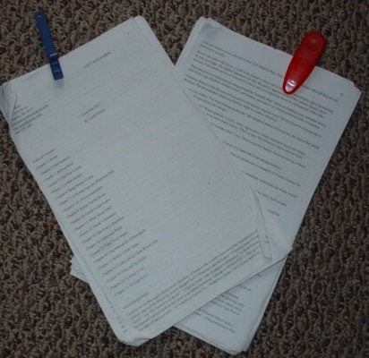More Than You Think You Know by Cyndi Perkins Original Manuscript